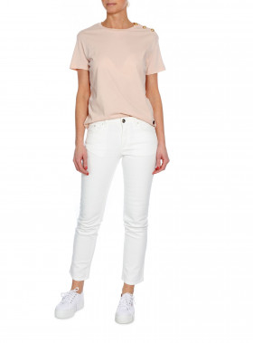 BUSNEL TOP TOULON SOLID LIGHT PINK