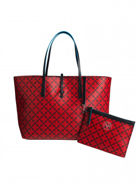 BY MALENE BIRGER VÄSKA GRINEEH BRIGHT RED