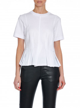 BY MALENE BIRGER T-SHIRT ROSON PURE WHITE