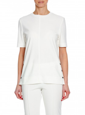 BY MALENE BIRGER T-SHIRT MISOMO SOFT WHITE