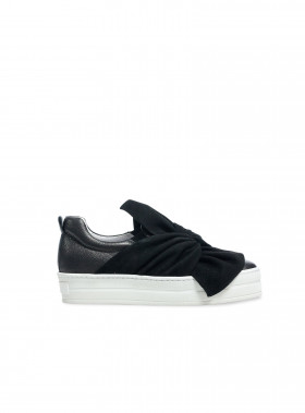 APAIR SNEAKER SLIP ON NERO