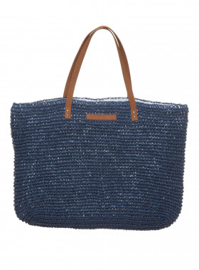 LEXINGTON VÄSKA RIVERSIDE PAPER STRAW BAG DEEPEST BLUE