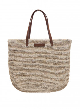 LEXINGTON VÄSKA RIVERSIDE PAPER STRAW BAG BEIGE