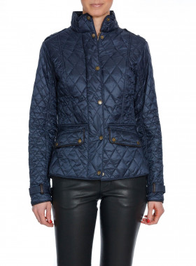 BARBOUR JACKA HADDINGTIN QUI NAVY
