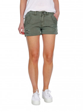 ODD MOLLY SHORTS STEP ON IT VINTAGE MILITARY