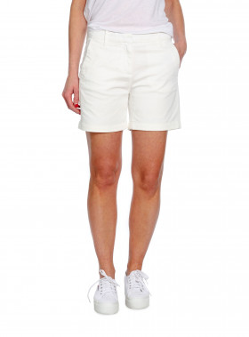 MORRIS LADY SHORTS ADELIE CHINO OFF WHITE