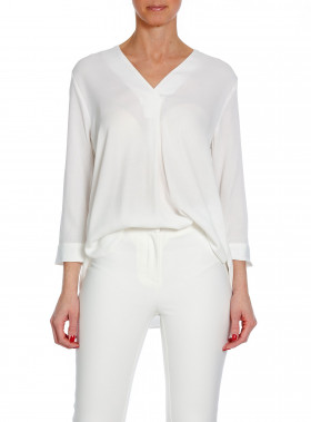 TIGER OF SWEDEN BLUS MERE WHITE