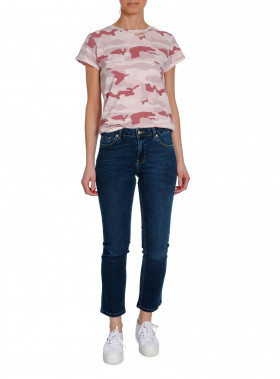 RAGDOLL LA TOP DISTREDDED VINTAGE PINK CAMO