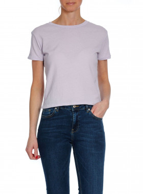 RAGDOLL LA TOP CROPPED LILAC