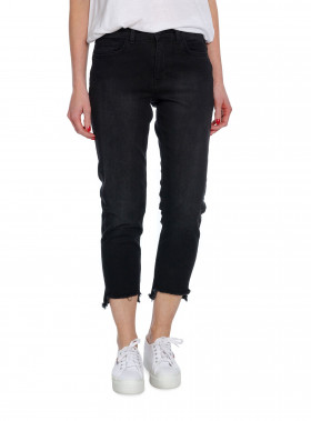 DAY JEANS SQUARE CROPPED BLACK