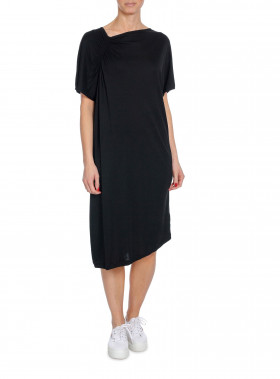 FILIPPA K KLÄNNING SMOCK T-SHIRT DRESS BLACK