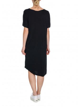 FILIPPA K KLÄNNING SMOCK T-SHIRT DRESS BLACK