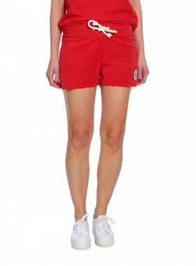 LEXINGTON SHORTS NAOMI FROTTÉ POMPEIAN RED