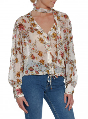 HUNKYDORY BLUS FLORA FLORAL PRINT