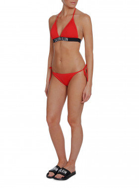 CALVIN KLEIN BIKINITOP FIXED RED