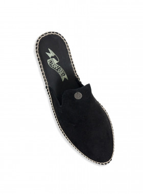 ODD MOLLY SLIPPER SLIPPIN ESPADRILLO BLACK