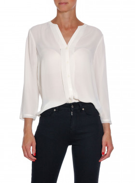 FILIPPA K BLUS SHEER CANVAS