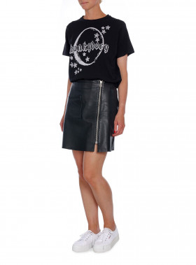 HUNKYDORY T-SHIRT MOONLIGHT BLACK