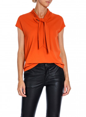 WHYRED BLUS VITA JERSEY BURNT ORANGE