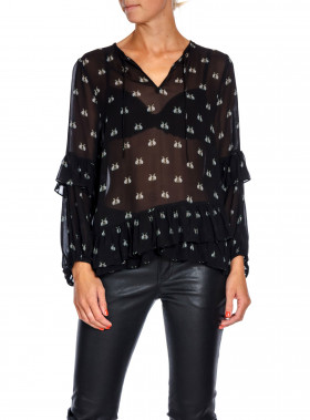 MUNTHE BLUS VERY BLACK