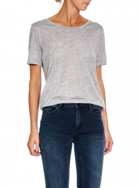 WHYRED TOP VANYA, GREY MELANGE