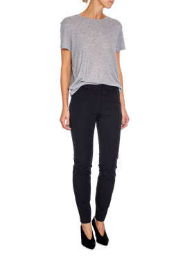 FILIPPA K BYXA SOPHIA COTTON, BLACK