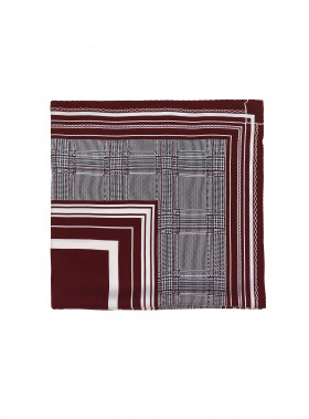 NOTES DU NORD SCARF IRON, CHECKED