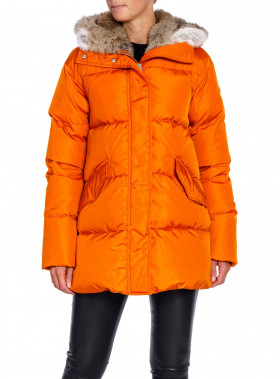 LEMPELIUS JACKA DOWN COAT DUSTY ORANGE