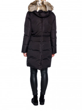 LEMPELIUS JACKA DOWN COAT BLACK
