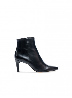 HENRY KOLE BOOTS FREYA LEATHER BLACK