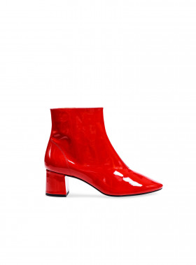 HENRY KOLE BOOTS ERIN RED PATENT