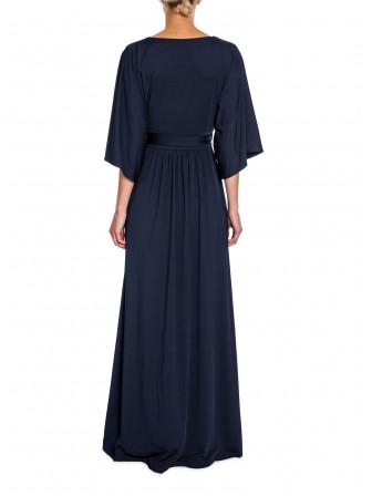 BY MALINA KLÄNNING EVELYN DRESS DARK BLUE